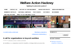 Welfare Action Hackney