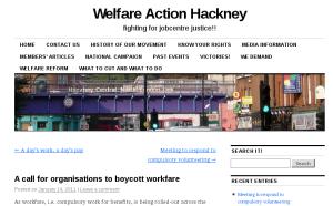 Welfare Action Hackney