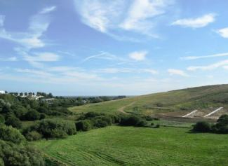 panoramic view of Combe Haven