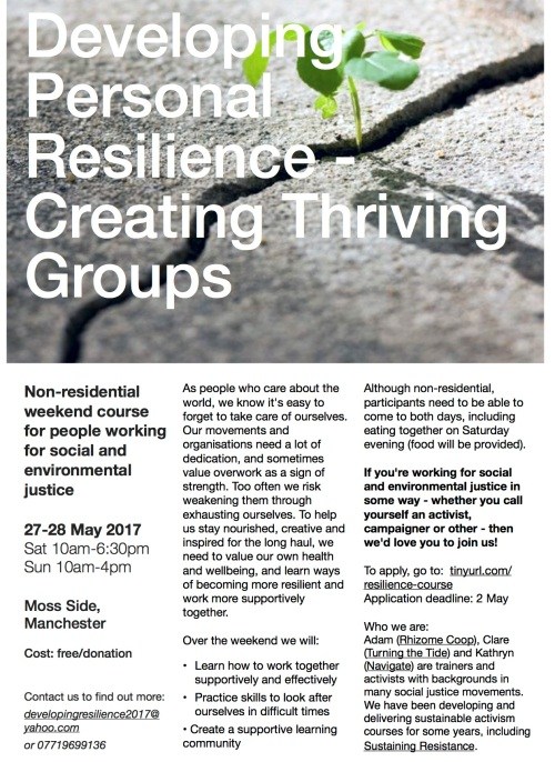 Developing Resistance Leaflet final